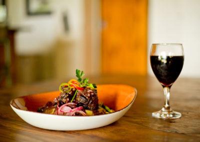 Enjoy fine dining at Xaro Lodge